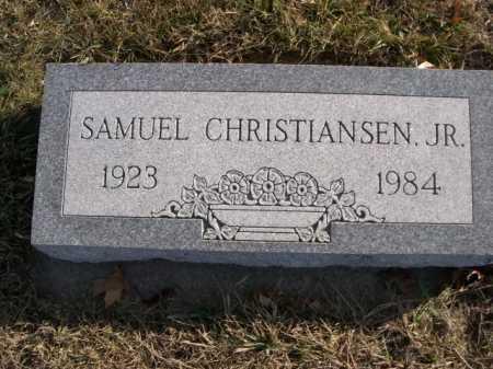 CHRISTIANSEN, SAMUEL JR. - Douglas County, Nebraska | SAMUEL JR. CHRISTIANSEN - Nebraska Gravestone Photos