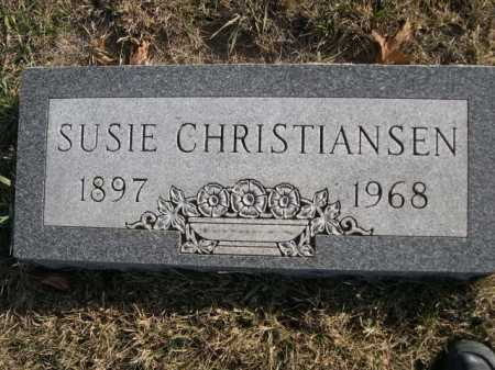 CHRISTIANSEN, SUSIE - Douglas County, Nebraska | SUSIE CHRISTIANSEN - Nebraska Gravestone Photos