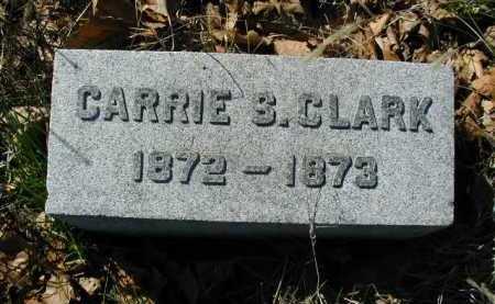 CLARK, CARRIE S - Douglas County, Nebraska | CARRIE S CLARK - Nebraska Gravestone Photos
