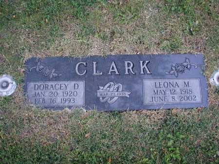 CLARK, DORACEY D - Douglas County, Nebraska | DORACEY D CLARK - Nebraska Gravestone Photos