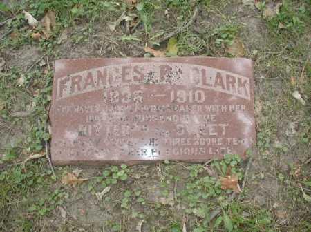 CLARK, FRANCES R - Douglas County, Nebraska | FRANCES R CLARK - Nebraska Gravestone Photos