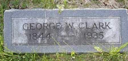 CLARK, GEORGE W - Douglas County, Nebraska   GEORGE W CLARK - Nebraska Gravestone Photos