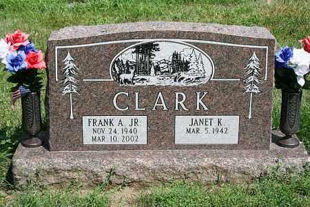 CLARK JR, FRANK A - Douglas County, Nebraska | FRANK A CLARK JR - Nebraska Gravestone Photos