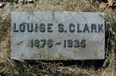 CLARK, LOUISE S - Douglas County, Nebraska | LOUISE S CLARK - Nebraska Gravestone Photos