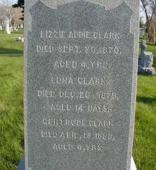 CLARK, LIZZIE ADDIE - Douglas County, Nebraska | LIZZIE ADDIE CLARK - Nebraska Gravestone Photos