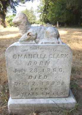 CLARK, OMANELLA - Douglas County, Nebraska   OMANELLA CLARK - Nebraska Gravestone Photos