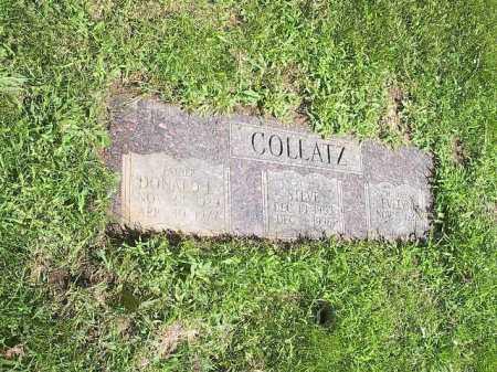 COLLATZ, DONALD - Douglas County, Nebraska | DONALD COLLATZ - Nebraska Gravestone Photos