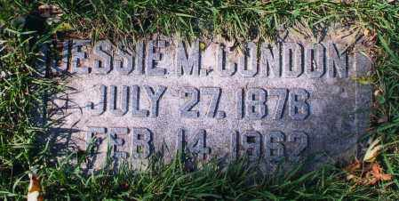 CONDON, BESSIE M. - Douglas County, Nebraska | BESSIE M. CONDON - Nebraska Gravestone Photos