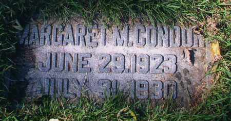 CONDON, MARGARET M. - Douglas County, Nebraska | MARGARET M. CONDON - Nebraska Gravestone Photos