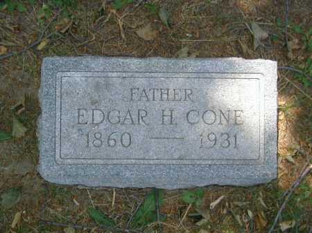 CONE, EDGAR H - Douglas County, Nebraska | EDGAR H CONE - Nebraska Gravestone Photos