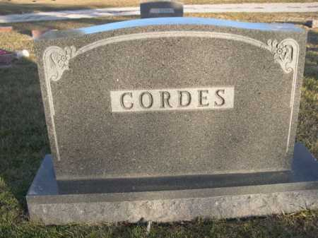 CORDES, FAMILY - Douglas County, Nebraska | FAMILY CORDES - Nebraska Gravestone Photos