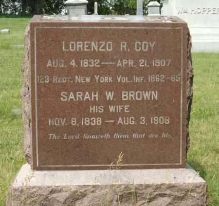 COY, LORENZO R. - Douglas County, Nebraska | LORENZO R. COY - Nebraska Gravestone Photos