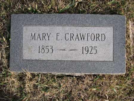 CRAWFORD, MARY E. - Douglas County, Nebraska   MARY E. CRAWFORD - Nebraska Gravestone Photos