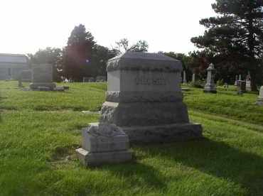 CROSBY, MARKER - Douglas County, Nebraska   MARKER CROSBY - Nebraska Gravestone Photos