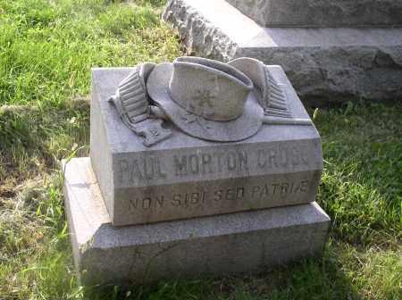 CROSBY, PAUL MORTON - Douglas County, Nebraska   PAUL MORTON CROSBY - Nebraska Gravestone Photos