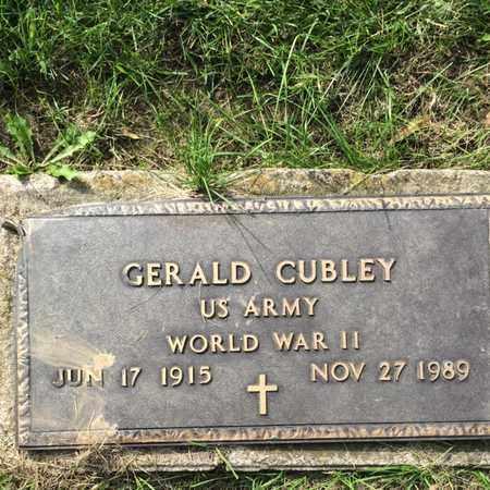CUBLEY, GERALD - Douglas County, Nebraska   GERALD CUBLEY - Nebraska Gravestone Photos