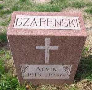 CZAPENSKI, ALVIN - Douglas County, Nebraska | ALVIN CZAPENSKI - Nebraska Gravestone Photos