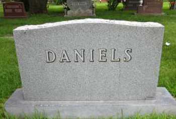 DANIELS, FAMILY - Douglas County, Nebraska   FAMILY DANIELS - Nebraska Gravestone Photos