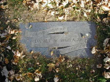DARLAND, DANIEL W - Douglas County, Nebraska | DANIEL W DARLAND - Nebraska Gravestone Photos