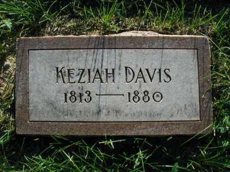 DAVIS, KEZIAH - Douglas County, Nebraska   KEZIAH DAVIS - Nebraska Gravestone Photos