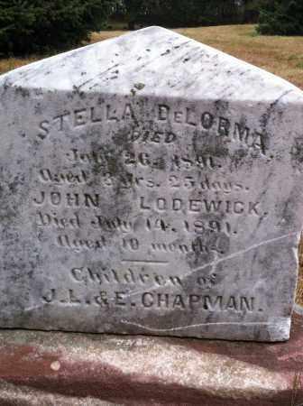 DE LORMA, STELLA - Douglas County, Nebraska | STELLA DE LORMA - Nebraska Gravestone Photos