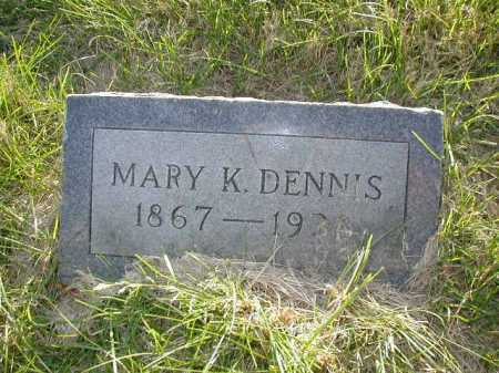 DENNIS, MARY KATE - Douglas County, Nebraska | MARY KATE DENNIS - Nebraska Gravestone Photos