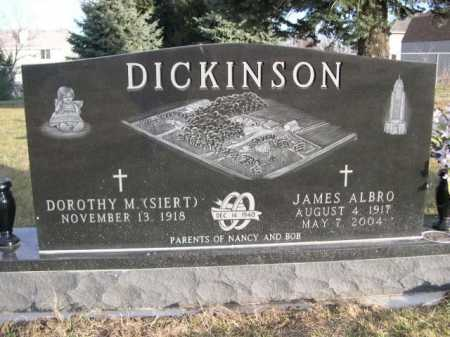 DICKINSON, JAMES ALBRO - Douglas County, Nebraska | JAMES ALBRO DICKINSON - Nebraska Gravestone Photos