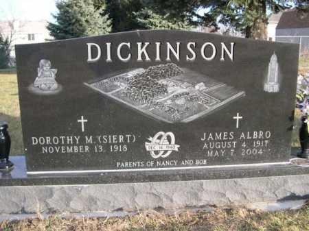 SIERT DICKINSON, DOROTHY M. (SIERT) - Douglas County, Nebraska | DOROTHY M. (SIERT) SIERT DICKINSON - Nebraska Gravestone Photos