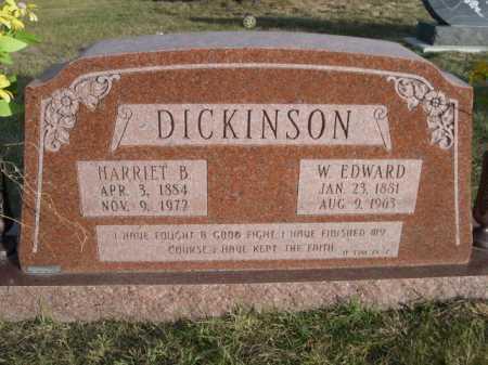 DICKINSON, W. EDWARD - Douglas County, Nebraska | W. EDWARD DICKINSON - Nebraska Gravestone Photos