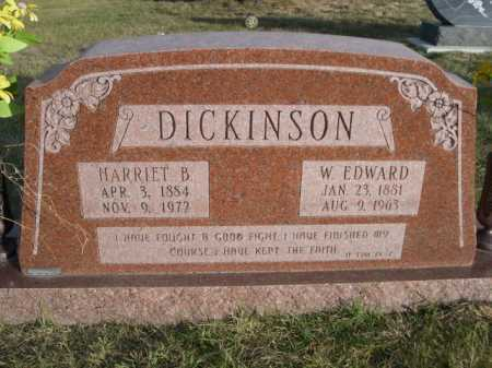 DICKINSON, HARRIET B. - Douglas County, Nebraska | HARRIET B. DICKINSON - Nebraska Gravestone Photos