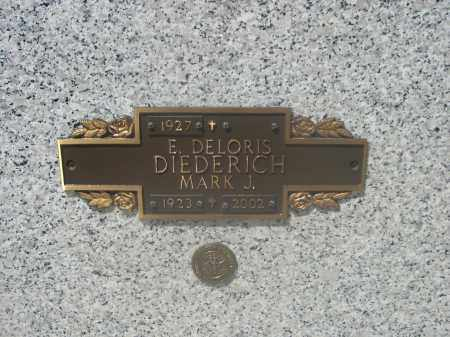DIEDERICH, MARK J. - Douglas County, Nebraska | MARK J. DIEDERICH - Nebraska Gravestone Photos