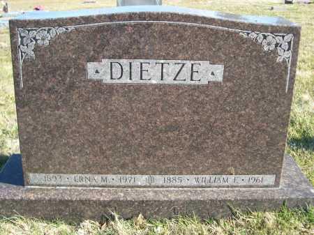 EIETZE, WILLIAM F. - Douglas County, Nebraska   WILLIAM F. EIETZE - Nebraska Gravestone Photos