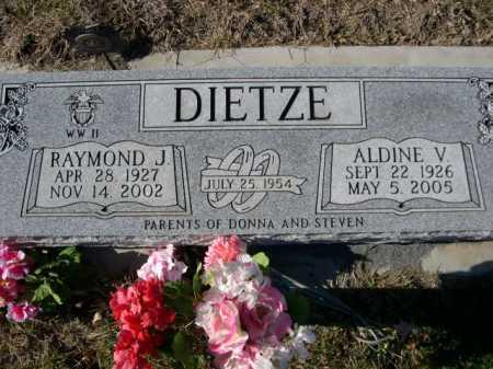 DIETZE, ALDINE V. - Douglas County, Nebraska | ALDINE V. DIETZE - Nebraska Gravestone Photos
