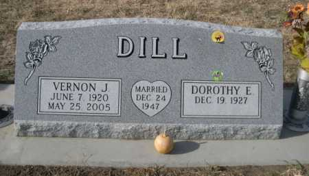 DILL, VERNON J. - Douglas County, Nebraska   VERNON J. DILL - Nebraska Gravestone Photos