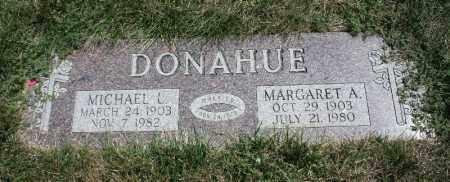 DONAHUE, MICHAEL L. - Douglas County, Nebraska | MICHAEL L. DONAHUE - Nebraska Gravestone Photos