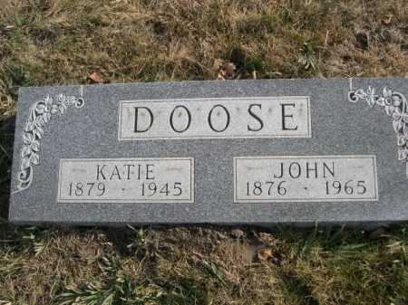 DOOSE, JOHN - Douglas County, Nebraska | JOHN DOOSE - Nebraska Gravestone Photos