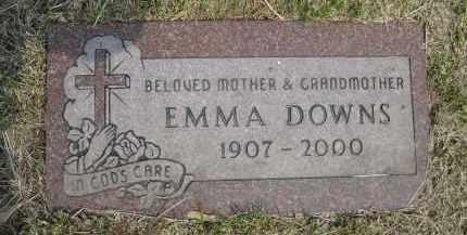 DOWNS, EMMA - Douglas County, Nebraska | EMMA DOWNS - Nebraska Gravestone Photos
