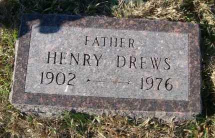 DREWS, HENRY - Douglas County, Nebraska | HENRY DREWS - Nebraska Gravestone Photos