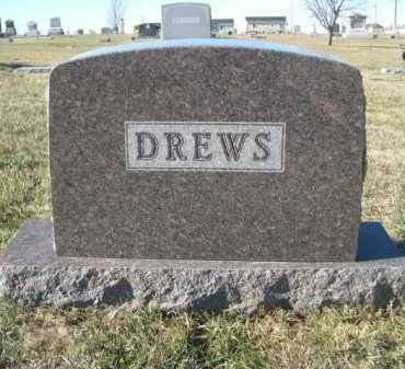 DREWS, FAMILY - Douglas County, Nebraska   FAMILY DREWS - Nebraska Gravestone Photos