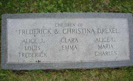 DREXEL, CHARLES - Douglas County, Nebraska | CHARLES DREXEL - Nebraska Gravestone Photos