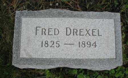 DREXEL, FRED - Douglas County, Nebraska | FRED DREXEL - Nebraska Gravestone Photos