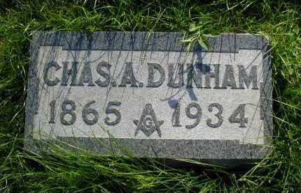 DUNHAM, CHARLES A. - Douglas County, Nebraska   CHARLES A. DUNHAM - Nebraska Gravestone Photos