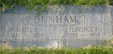 DUNHAM, DANIEL H. - Douglas County, Nebraska | DANIEL H. DUNHAM - Nebraska Gravestone Photos