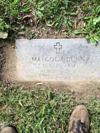 DUNN, MALCOLM - Douglas County, Nebraska | MALCOLM DUNN - Nebraska Gravestone Photos