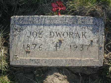 DWORAK, JOE - Douglas County, Nebraska   JOE DWORAK - Nebraska Gravestone Photos