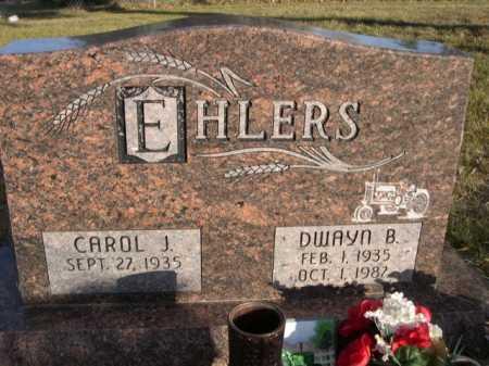 EHLERS, DWAYN B. - Douglas County, Nebraska | DWAYN B. EHLERS - Nebraska Gravestone Photos