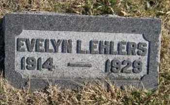 EHLERS, EVELYN L. - Douglas County, Nebraska   EVELYN L. EHLERS - Nebraska Gravestone Photos