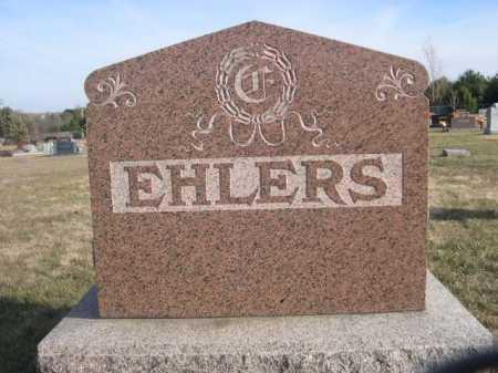 EHLERS, FAMILY - Douglas County, Nebraska | FAMILY EHLERS - Nebraska Gravestone Photos