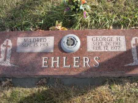 EHLERS, GEORGE H. - Douglas County, Nebraska   GEORGE H. EHLERS - Nebraska Gravestone Photos