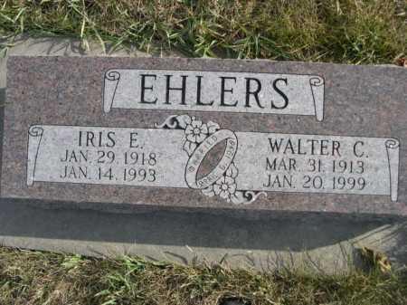 EHLERS, IRIS E. - Douglas County, Nebraska | IRIS E. EHLERS - Nebraska Gravestone Photos